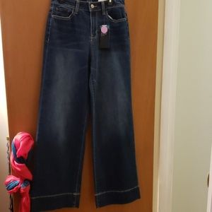 NWT Women's a.n.a. A New Approach Wide Leg Jeans